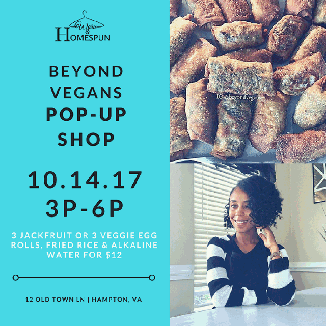 Beyond Vegans Pop-Up Shop – 10.14.17