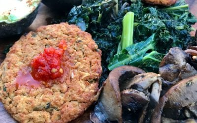 Beyond Vegans Red Lentil Patties