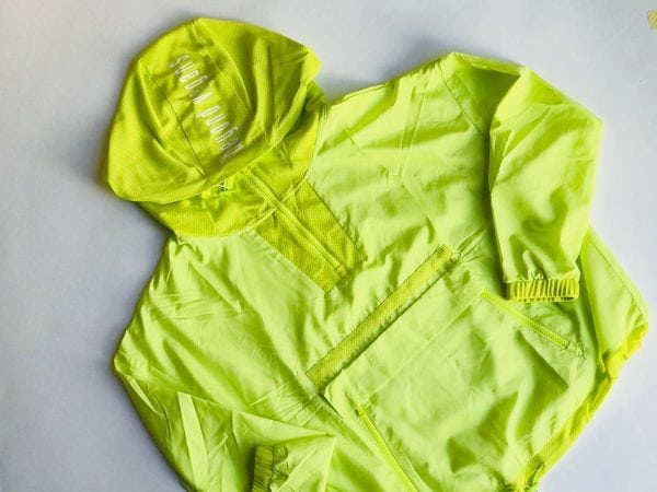 Inner Wind Women's Pullover Windbreaker Neon