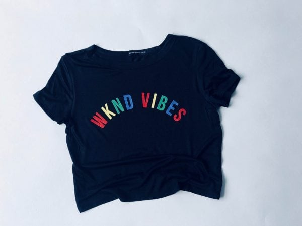 Weekend Vibes Women's Waist Top