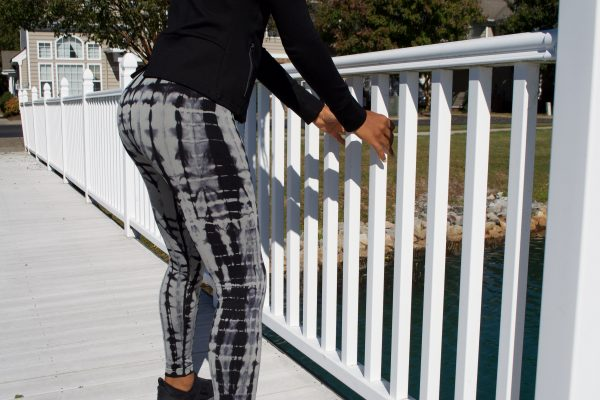 Beyond Vegans - High Rise Waist Tie Dye Print Leggings 3