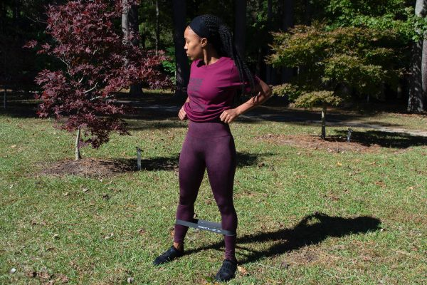 Beyond Vegans- Womens Washed High Rise Training Tights